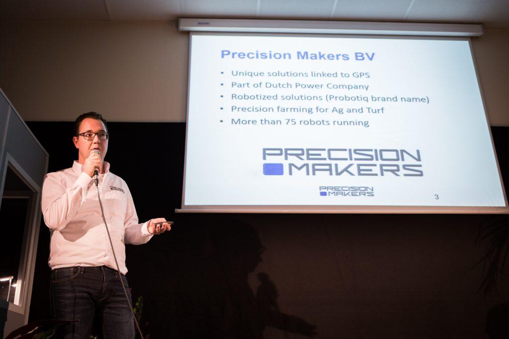 FIRA 2016 - Naïo Technologies - Allart Martinet Precision Makers