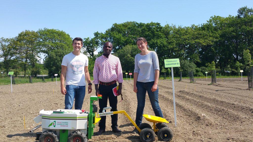 Etude pénibilité du travail agricole- Station expérimentale Bretagne Sud