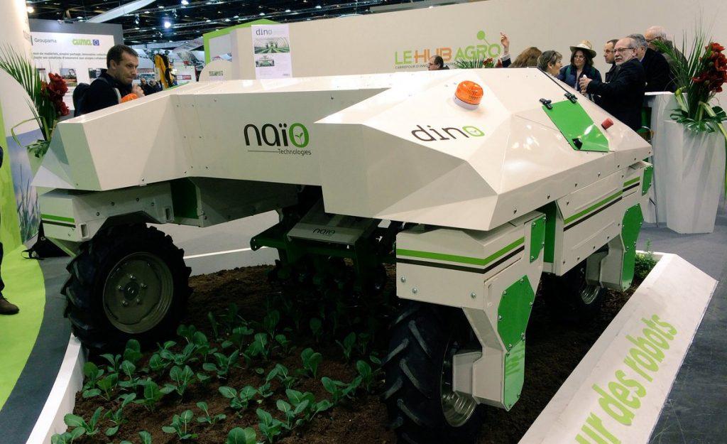 Assurance robots agricoles Groupama SIMA 2017