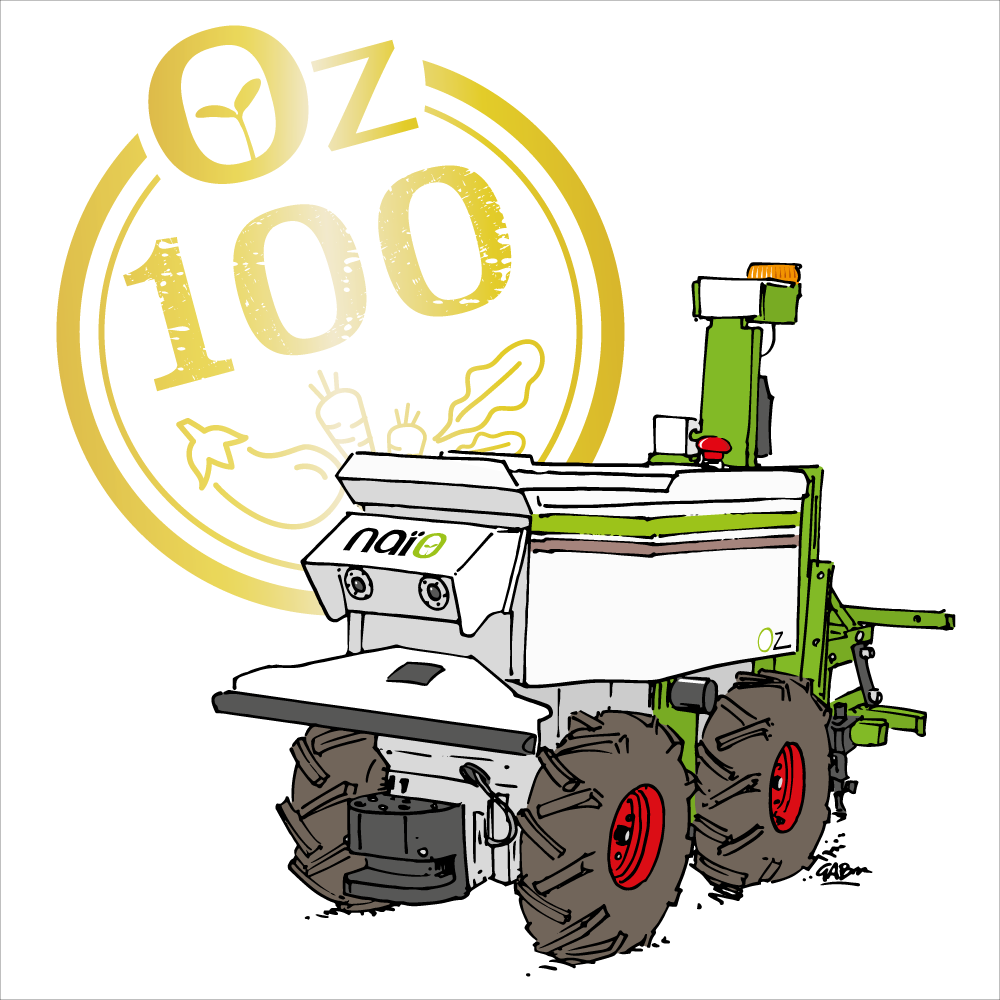 Robot Oz 100 by Gab